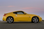 Nissan 370Z V6 3.7 328 CV (2009) Gama 370Z (2009) Coupé Ultimate Yellow Exterior Lateral 3 puertas