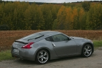 Nissan 370Z V6 3.7 328 CV (2009) Gama 370Z (2009) Coup&eacute; Blade Silver Exterior Lateral-Posterior 3 puertas