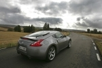 Nissan 370Z V6 3.7 328 CV (2009) Gama 370Z (2009) Coup&eacute; Blade Silver Exterior Posterior-Lateral 3 puertas