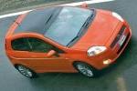 Fiat Grande Punto Gama Grande Punto Gama Grande Punto Turismo Naranja Goa Exterior Cenital-Lateral-Frontal 3 puertas