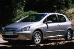 Peugeot 307 2.0 HDI 90 CV Gama 307 Turismo Exterior Frontal-Lateral 3 puertas