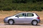 Peugeot 307 2.0 HDI 90 CV Gama 307 Turismo Exterior Lateral 3 puertas