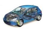 Peugeot 307 Gama 307 Gama 307 Turismo Técnica Radiografía 3 puertas