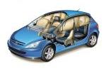 Peugeot 307 Gama 307 Gama 307 Turismo Técnica Airbags 3 puertas