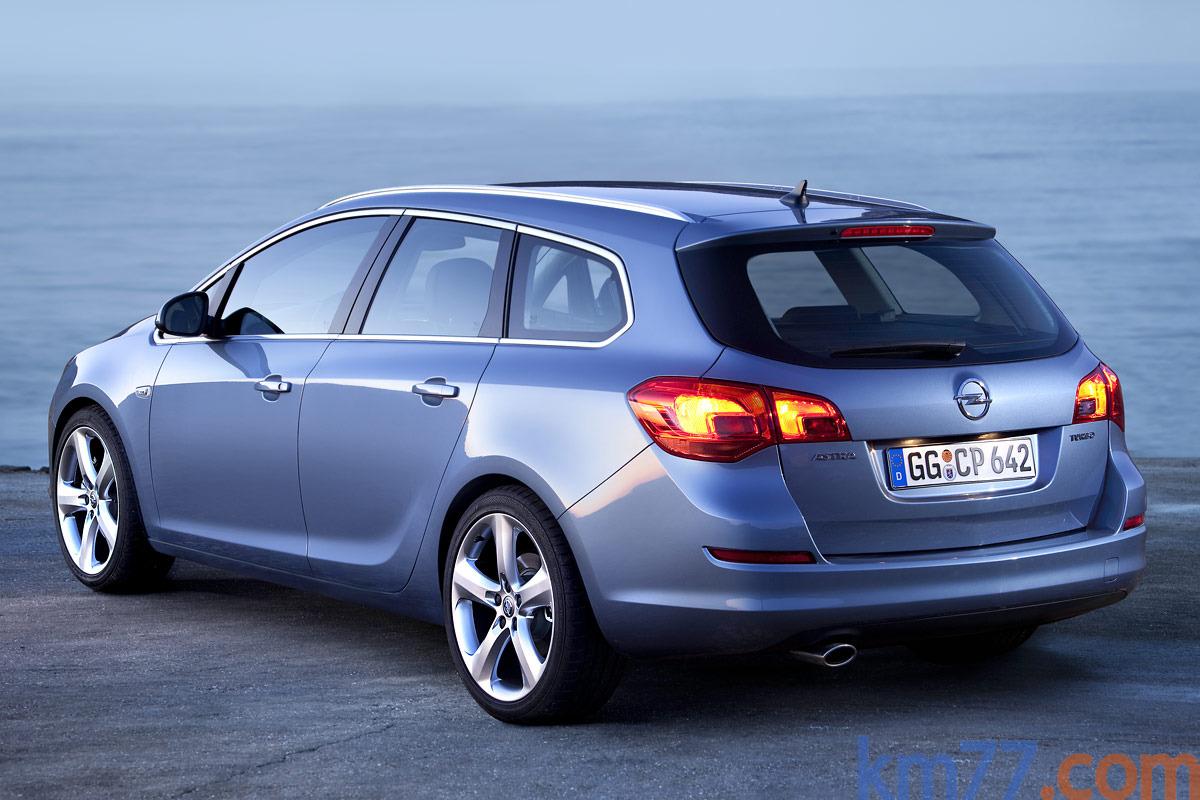 Opel Astra Sports Tourer 1.6 Turbo 180 CV Cosmo Turismo familiar Azul ...