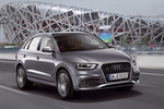 Audi Q3 2.0 TDI 177 CV quattro (Paquete S line) S line Todo terreno Gris monz&oacute;n metalizado Exterior Frontal-Lateral 5 puertas