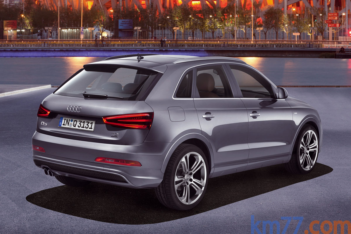 Audi Q3 2.0 TDI 177 CV quattro (Paquete S line) S line Todo terreno Gris monz&oacute;n metalizado Exterior Posterior-Lateral 5 puertas