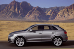 Audi Q3 2.0 TFSI 211 CV quattro (Paquete S line) S line Todo terreno Gris monz&oacute;n metalizado Exterior Lateral 5 puertas