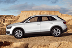 Audi Q3 2.0 TFSI 211 CV quattro (Paquete S line) S line Todo terreno Blanco Amalfi Exterior Lateral 5 puertas