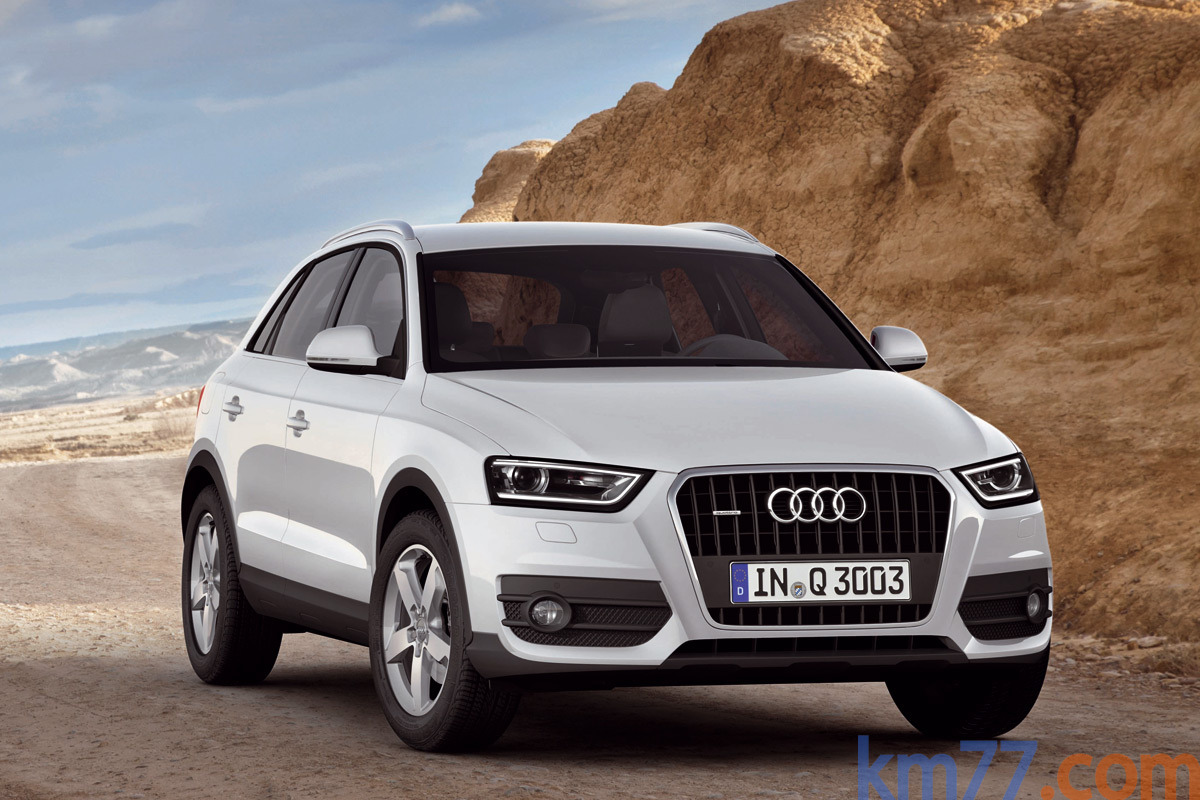 Audi Q3 2.0 TFSI 211 CV quattro (Paquete S line) S line Todo terreno Blanco Amalfi Exterior Frontal-Lateral 5 puertas