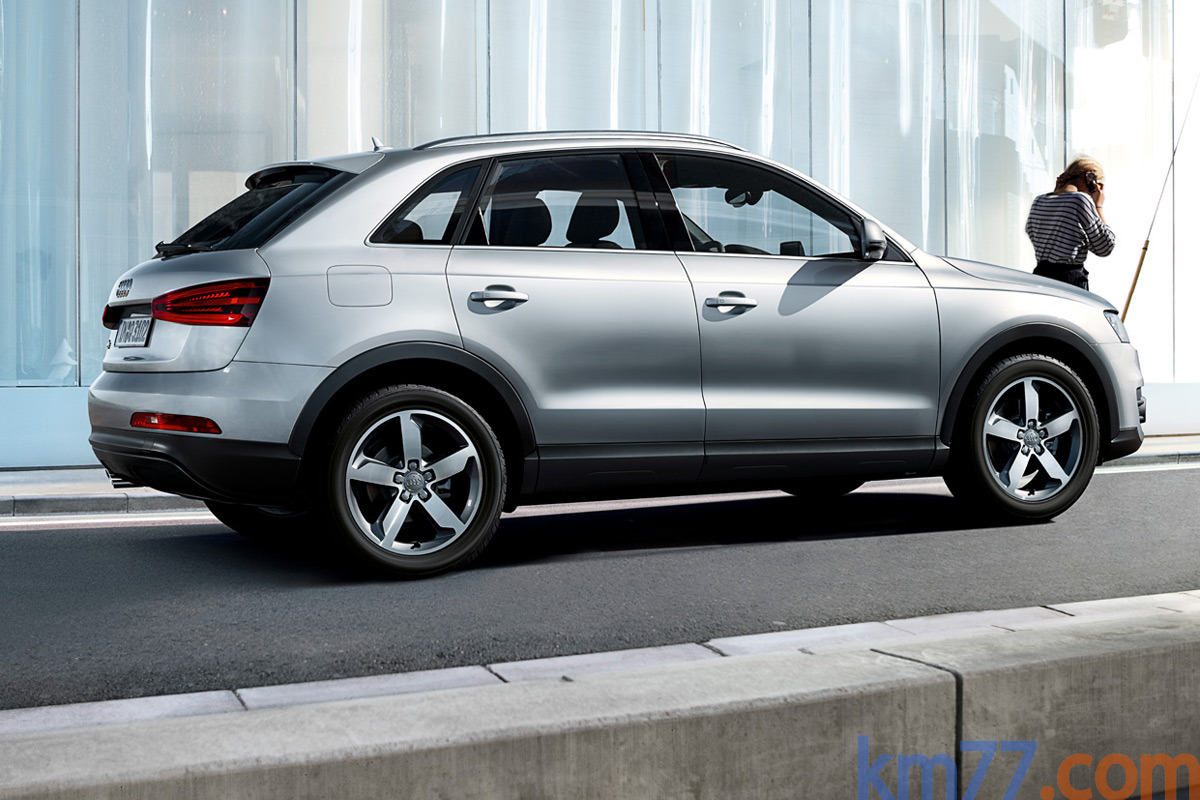 Audi Q3 Gama Q3 Gama Q3 Todo terreno Exterior Posterior-Lateral 5 puertas