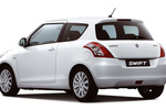 Suzuki Swift Gama Swift Gama Swift Turismo Superior White Exterior Posterior-Lateral 3 puertas