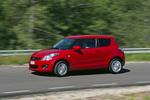 Suzuki Swift 1.3 D 75 CV GL+ Turismo Rojo Bright Exterior Lateral-Frontal 3 puertas