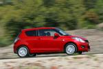 Suzuki Swift 1.3 D 75 CV GL+ Turismo Rojo Bright Exterior Lateral 3 puertas