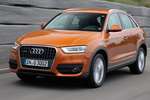 Audi Q3 2.0 TDI 177 CV quattro  Gama Q3 Todo terreno Naranja Samoa metalizado Exterior Frontal-Lateral 5 puertas