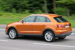 Audi Q3 2.0 TDI 177 CV quattro  Gama Q3 Todo terreno Naranja Samoa metalizado Exterior Lateral 5 puertas