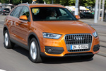 Audi Q3 2.0 TDI 177 CV quattro  Gama Q3 Todo terreno Naranja Samoa metalizado Exterior Lateral-Frontal 5 puertas