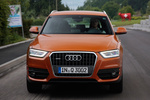 Audi Q3 2.0 TDI 177 CV quattro  Gama Q3 Todo terreno Naranja Samoa metalizado Exterior Frontal 5 puertas