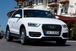 Audi Q3 2.0 TFSI 211 CV quattro S tronic Gama Q3 Todo terreno Blanco Amalfi Exterior Lateral-Frontal 5 puertas