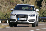 Audi Q3 2.0 TFSI 211 CV quattro S tronic Ambition Todo terreno Blanco Amalfi Exterior Frontal 5 puertas
