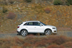 Audi Q3 2.0 TFSI 211 CV quattro S tronic Ambition Todo terreno Blanco Amalfi Exterior Lateral 5 puertas