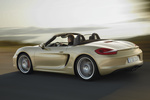Porsche Boxster Boxster S Boxster S Descapotable Oro Lima Metalizado Exterior Lateral-Posterior 2 puertas