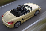 Porsche Boxster Boxster S Boxster S Descapotable Oro Lima Metalizado Exterior Cenital 2 puertas
