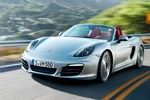 Porsche Boxster Boxster S Boxster S Descapotable Plata GT Metalizado Exterior Frontal-Lateral 2 puertas