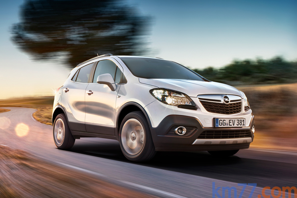 Opel Mokka Gama Mokka Gama Mokka Todo terreno Blanco Alpino Exterior Frontal-Lateral 5 puertas