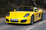Porsche Boxster Boxster S Boxster S Descapotable Amarillo Racing Exterior Frontal-Lateral 2 puertas