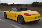 Porsche Boxster Boxster S Boxster S Descapotable Amarillo Racing Exterior Lateral-Posterior 2 puertas