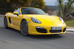 Porsche Boxster Boxster S Boxster S Descapotable Amarillo Racing Exterior Lateral-Frontal 2 puertas