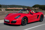 Porsche Boxster Boxster S Boxster S Descapotable Rojo Guardia Exterior Frontal-Lateral 2 puertas