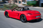Porsche Boxster Boxster S Boxster S Descapotable Rojo Guardia Exterior Lateral-Posterior 2 puertas
