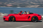 Porsche Boxster Boxster S Boxster S Descapotable Rojo Guardia Exterior Lateral 2 puertas