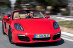 Porsche Boxster Boxster S Boxster S Descapotable Rojo Guardia Exterior Frontal 2 puertas