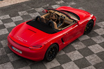 Porsche Boxster Boxster S Boxster S Descapotable Rojo Guardia Exterior Cenital 2 puertas
