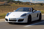 Porsche Boxster Boxster S Boxster S Descapotable Blanco Carrara Exterior Frontal-Lateral 2 puertas