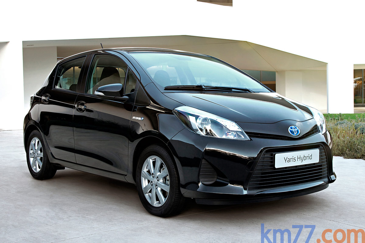 Toyota Yaris H&iacute;brido H&iacute;brido Turismo Negro Azabache Exterior Lateral-Frontal 5 puertas