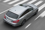 Mercedes-Benz Clase CLS CLS 63 AMG Shooting Brake CLS 63 AMG Shooting Brake Turismo familiar Plata Paladio Metalizado Exterior Posterior-Lateral-Cenital 5 puertas