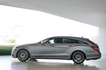 Mercedes-Benz Clase CLS CLS 63 AMG Shooting Brake CLS 63 AMG Shooting Brake Turismo familiar Plata Paladio Metalizado Exterior Lateral 5 puertas