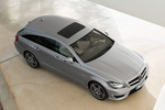 Mercedes-Benz Clase CLS CLS 63 AMG Shooting Brake CLS 63 AMG Shooting Brake Turismo familiar Plata Paladio Metalizado Exterior Cenital-Lateral 5 puertas