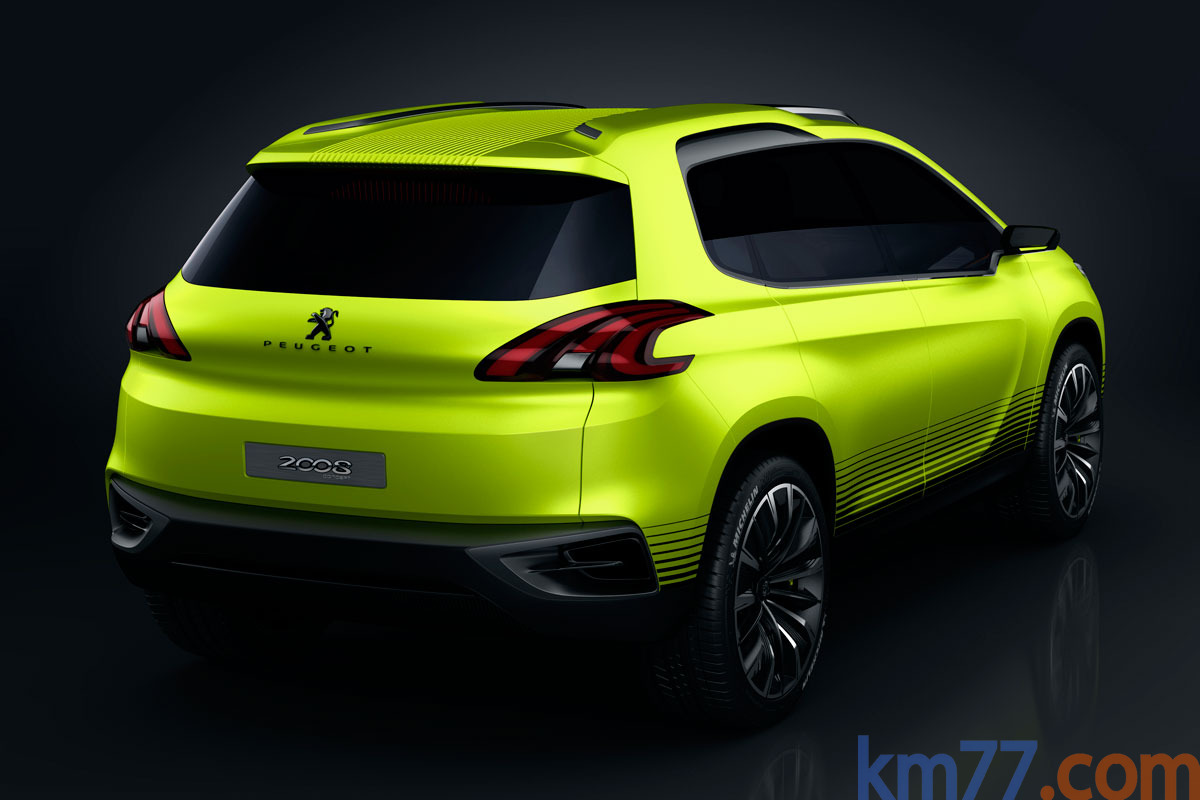 Peugeot 2008 Concept Todo terreno Exterior Posterior-Lateral 5 puertas