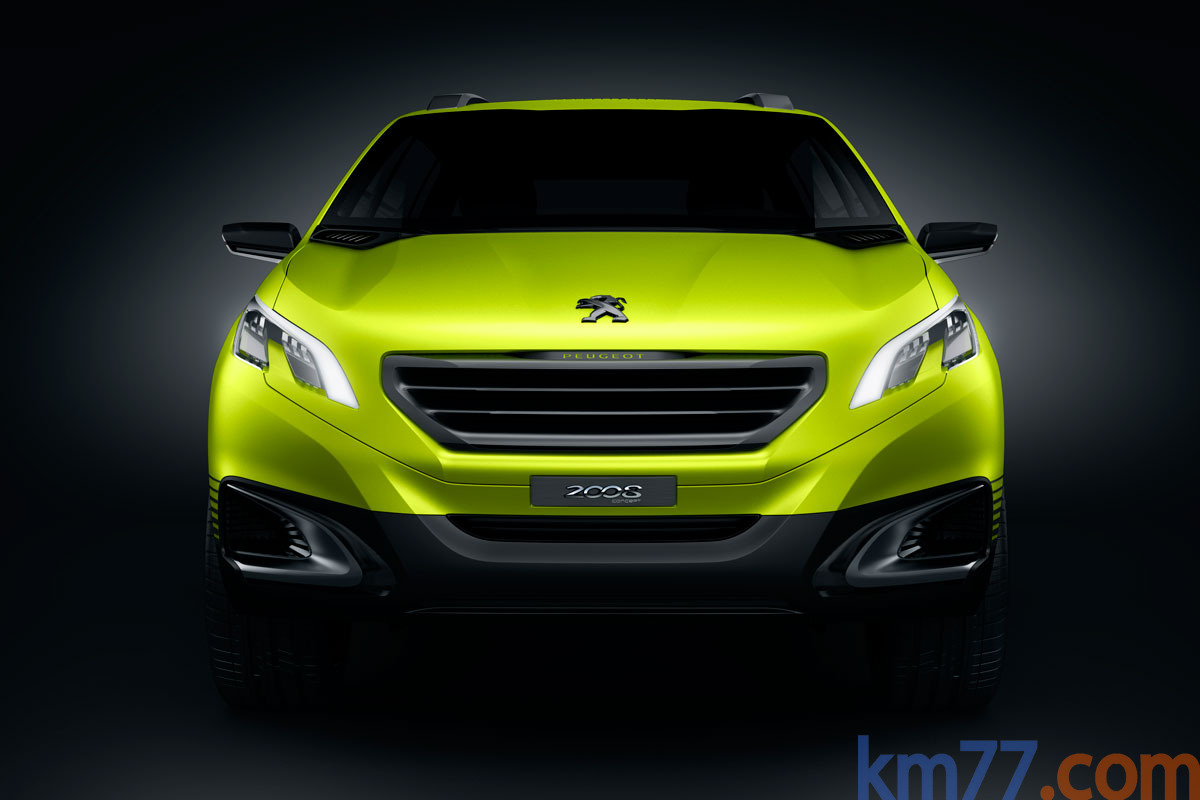 Peugeot 2008 Concept Todo terreno Exterior Frontal 5 puertas