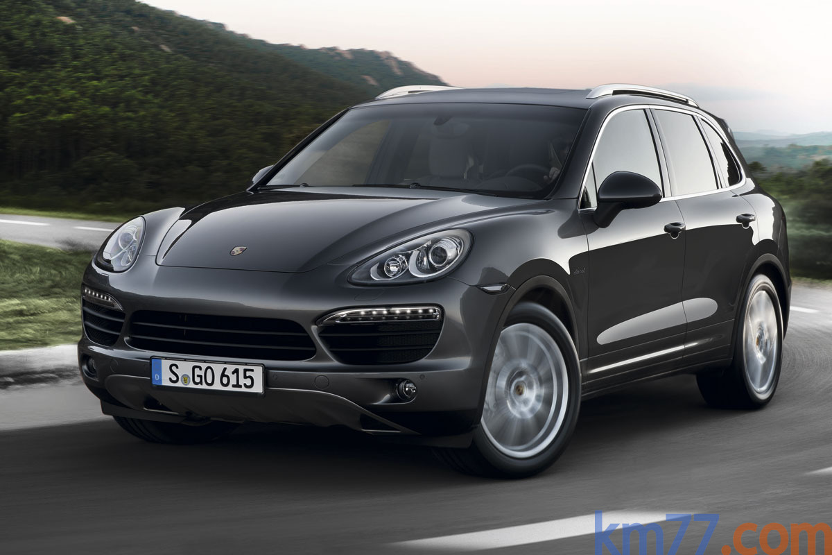 Porsche Cayenne Cayenne S Diesel Cayenne S Diesel Todo terreno Gris Lava Metalizado Exterior Frontal-Lateral 5 puertas