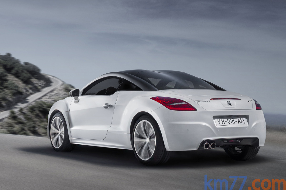 Peugeot RCZ Gama RCZ Gama RCZ Coup&eacute; Al Blanco Opale Exterior Lateral-Posterior 2 puertas
