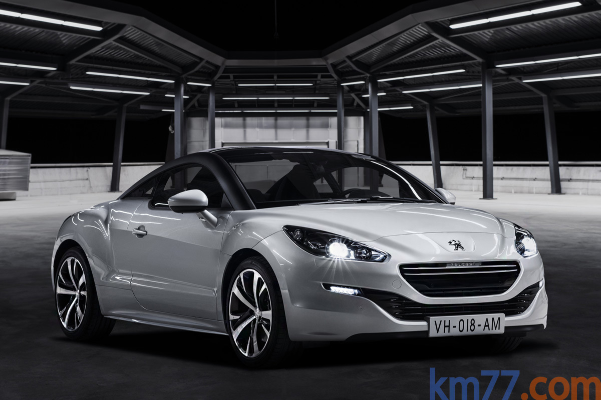 Peugeot RCZ Gama RCZ Gama RCZ Coup&eacute; Al Blanco Opale Exterior Lateral-Frontal 2 puertas