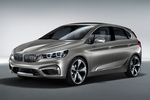 BMW Concept Active Tourer Monovolumen Exterior Frontal-Lateral 5 puertas