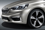 BMW Concept Active Tourer Monovolumen Exterior Faro 5 puertas