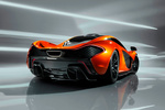 McLaren P1 prototipo Coup&eacute; Exterior Posterior-Lateral 2 puertas